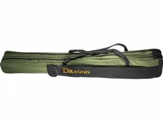 Pokrowiec na wędki dwukomorowy 145 cm, DRAGON