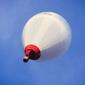 Podniebny balon - plakat premium wymiar do wyboru: 100x70 cm