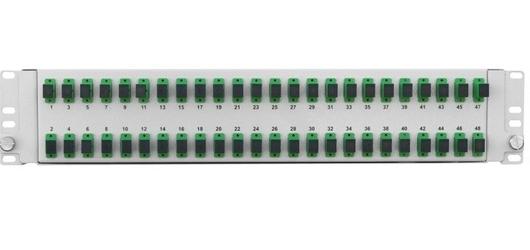 Przełącznica światłowodowa 2u 19 48x sc simplex wysuwana - szybka dostawa lub możliwość odbioru w 39 miastach