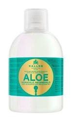 Kallos kjmn aloe nawilżająco-regenerujący szampon do włosów z ekstraktem aloe vera 1000ml