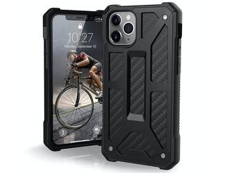Etui uag urban armor gear monarch do iphone 11 pro black carbon fiber - czarny