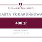 Karta podarunkowa do sklepu EleganckiPan.com.pl 400 zł