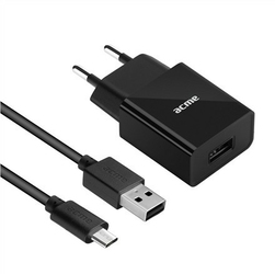 ACME Europe Ładowarka sieciowa CH211 USB + MicroUSB
