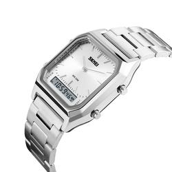 Zegarek SKMEI 1220 LED BRANSOLETA silver - SILVER