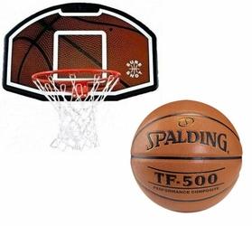 Zestaw do koszykówki Sure Shot 508 Bronx z uchwytem + Spalding TF-500