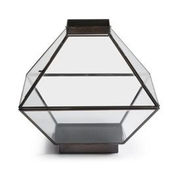 Metalowa latarenka lucas 30x30 cm czarna