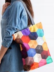 Torebka damska shopper bag lorenti sunny factor 031 - szary