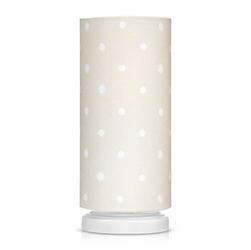 Lampka nocna ze ściemniaczem - lovely dots beige