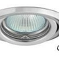 Oprawa stropowa -  gniazdo gu10 na 230v - ruchoma - chrom