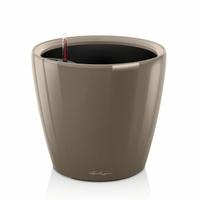 Donica lechuza classico ls - taupe kawa z mlekiem - 43 cm, połysk - kawa z mlekiem