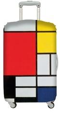 Pokrowiec na walizkę LOQI Museum Piet Mondrian