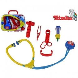 Simba walizka kuferek lekarza z młoteczekiem 6 akcesoriów