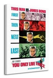 James bond you only live twice - teaser - obraz na płótnie