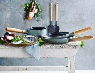 Patelnie z powłoką ceramiczną, rondel i akcesoria kuchenne mayflower greenpan cc001592-001