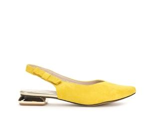 Baleriny damskie jez asa178 żół