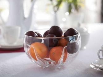 Salaterka  owocarka szklana edwanex mandarynka 23 cm