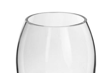 Wazon szklany średnica 8 cm wysokość 23 cm