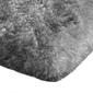 Shaggy dywanik łazienkowy pluszowy wysoki 60x90 srebrny