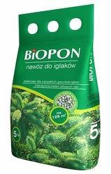 Biopon, nawóz granulowany do iglaków, worek 5kg