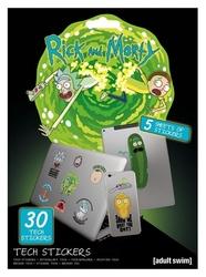 Rick and morty adventures - naklejki na laptopa