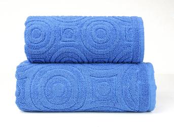 EMMA 2 NIEBIESKI ręcznik bawełniany GRENO - niebieski