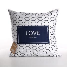 Poszewka na poduszkę dekoracyjna altom design hampton love 40 x 40 cm