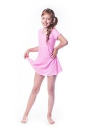 Kostium gimnastyczny ze spódniczką b9 shepa