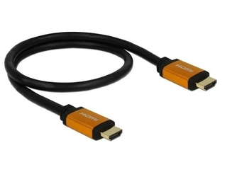 Delock kabel hdmi mm v2.1 8k 60hz czarny 0,5m