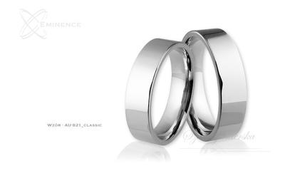Obrączki ślubne - wzór au-821