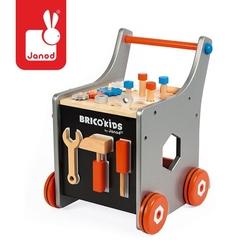 Janod wózek warsztat magnetyczny z narzędziami brico 'kids