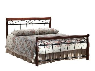 Łóżko florencja bis 160x200 czereśnia antyczna