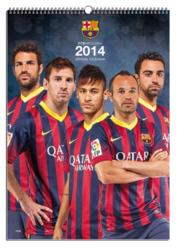 FC Barcelona - oficjalny kalendarz 2014