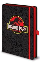 Jurassic park classic logo - notes