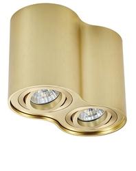 Podwójna oprawa sufitowa spot rondoo sl2 złota