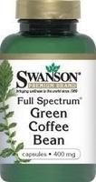 Swanson full spectrum ziarna zielona kawa 400mg x 60 kapsułek