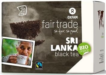 Oxfam | herbata czarna saszetki 20 szt. | organic - fairtrade
