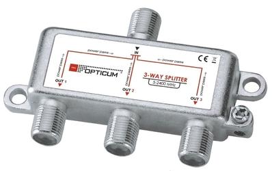 Rozgałęźnik 1-3 dvb-t sat opticum - szybka dostawa lub możliwość odbioru w 39 miastach