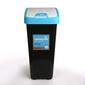 Kosz  pojemnik na śmieci z naciskaną pokrywą niebieską keeeper 45 l