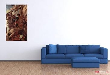 męczeństwo św. erazma -   nicolas poussin ; obraz - reprodukcja