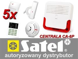 Alarm satel ca-6 led, 5xaqua plus, fd-1, tsd-1, sd-6000 - możliwość montażu - zadzwoń: 34 333 57 04 - 37 sklepów w całej polsce