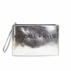 Kopertówka damska kendall + kylie lady clutch - srebrny