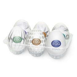 Sexshop - tenga masturbator - egg 6 styles pack serie 2  - online
