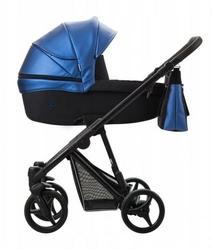 Wózek Bebetto Nitello Shine 4w1 Maxi Cosi Cabriofix + baza Familyfix