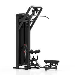 Maszyna 2-w-1 wyciąg górny i dolny mp-u211 - marbo sport - czarny  antracyt metalic