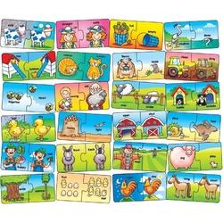 Puzzle farma przeciwieństwa do nauki angielskiego