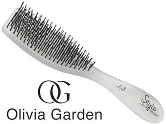 Olivia garden istyle fine hair, szczotka do codziennej pielęgnacji i rozczesywania włosów