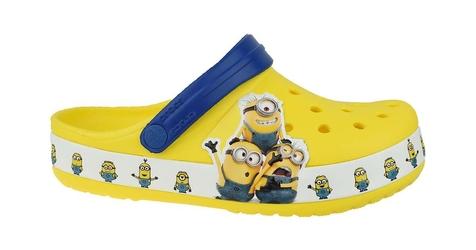 Crocs fun lab minions multi clog 205512-730 3233 żółty