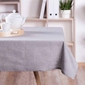 Obrus na stół bawełniany altom design szary 160 x 240 cm