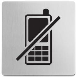 Znaczek informacyjny zakaz używania telefonów indici zack 50717