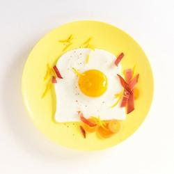 Foremki silikonowe do jajek w kształcie tostów mastrad ma-f65809